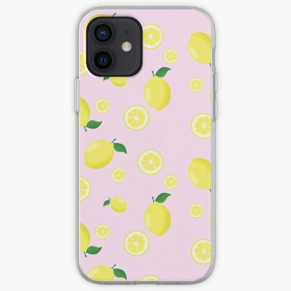Deconstructed Pink Lemonade iPhone Soft Case