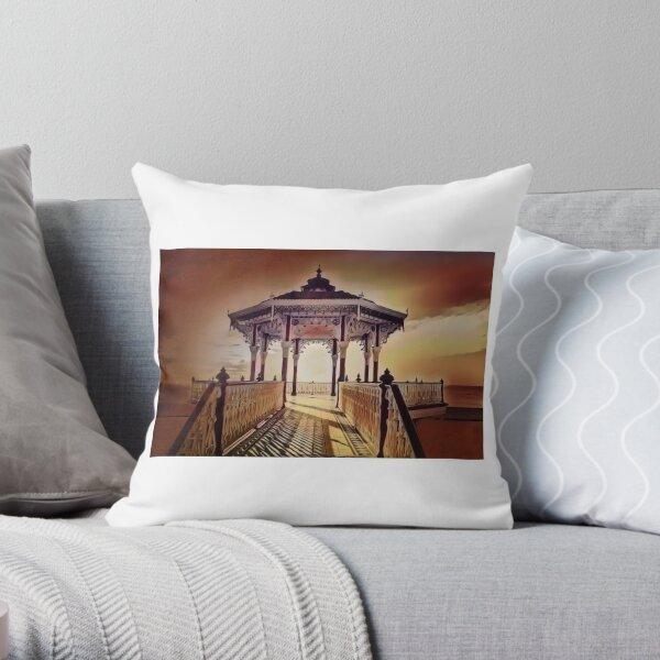 Brighton Bandstand  Throw Pillow
