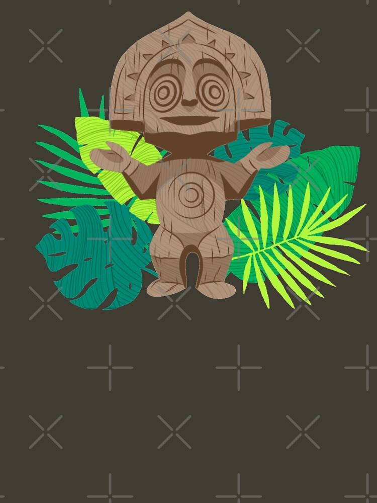 Polynesian Resort Tiki von ClemCatCreation