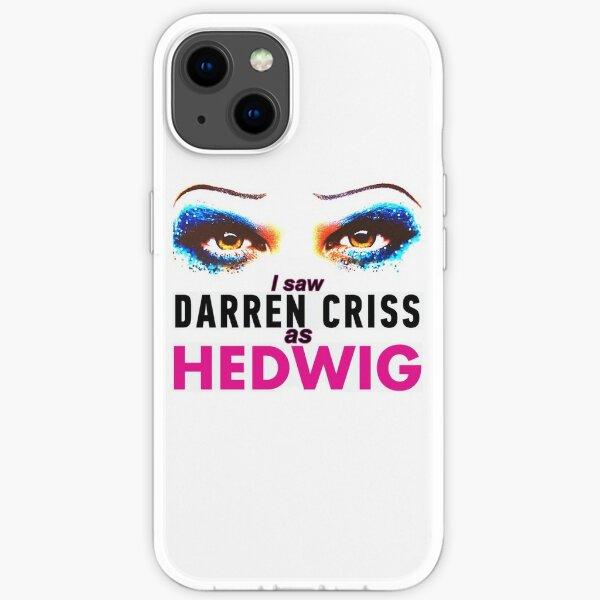 I saw Darren Criss as Hedwig iPhone Soft Case