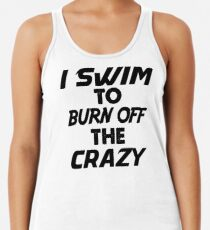 Swimming Racerback Tank Top