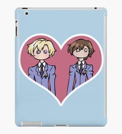 Tamaki and Haruhi - shipping dolls iPad Case/Skin
