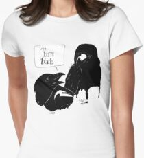 The Crow Calls the Raven Black T-Shirt
