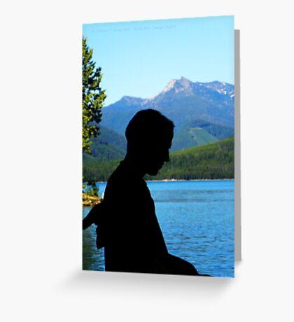 Montana Life Greeting Card