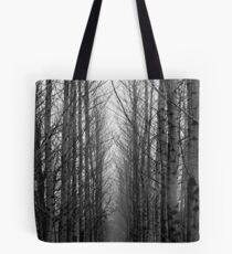 Matsqui Woods in Black Tote Bag
