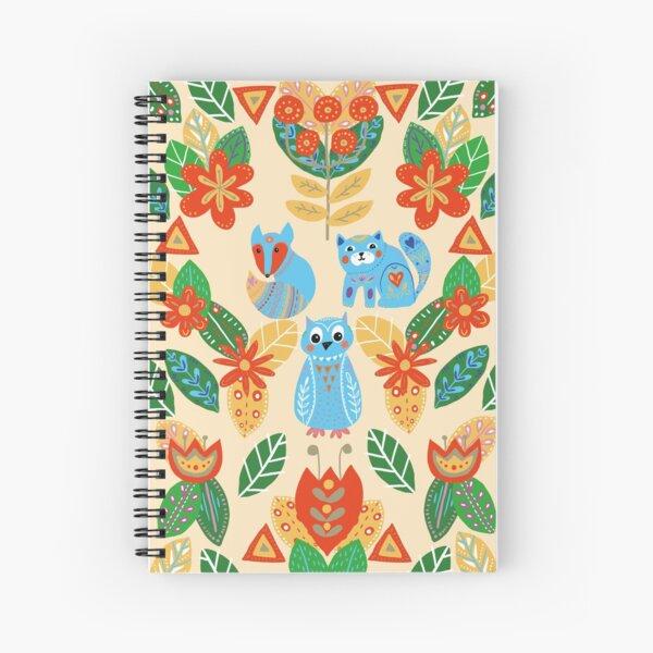 Blue days Spiral Notebook