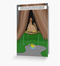 Poultry Piracy Greeting Card