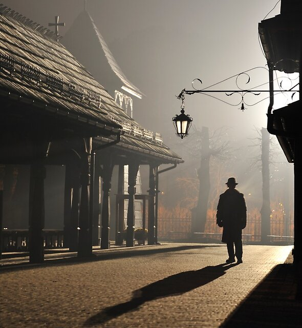 Strangers in the Night by Kasia Nowak