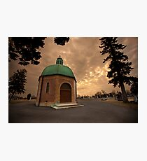 Mausoleum Photographic Print