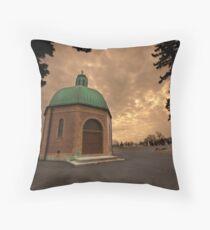 Mausoleum Throw Pillow