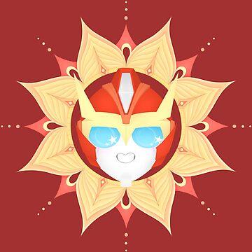 Rodimus Mandala ~ Transformers by Chioccetta