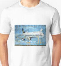 Jumbo jet, Indian Air Force Weathered Unisex T-Shirt