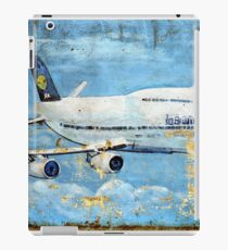 Jumbo jet, Indian Air Force Weathered iPad Case/Skin