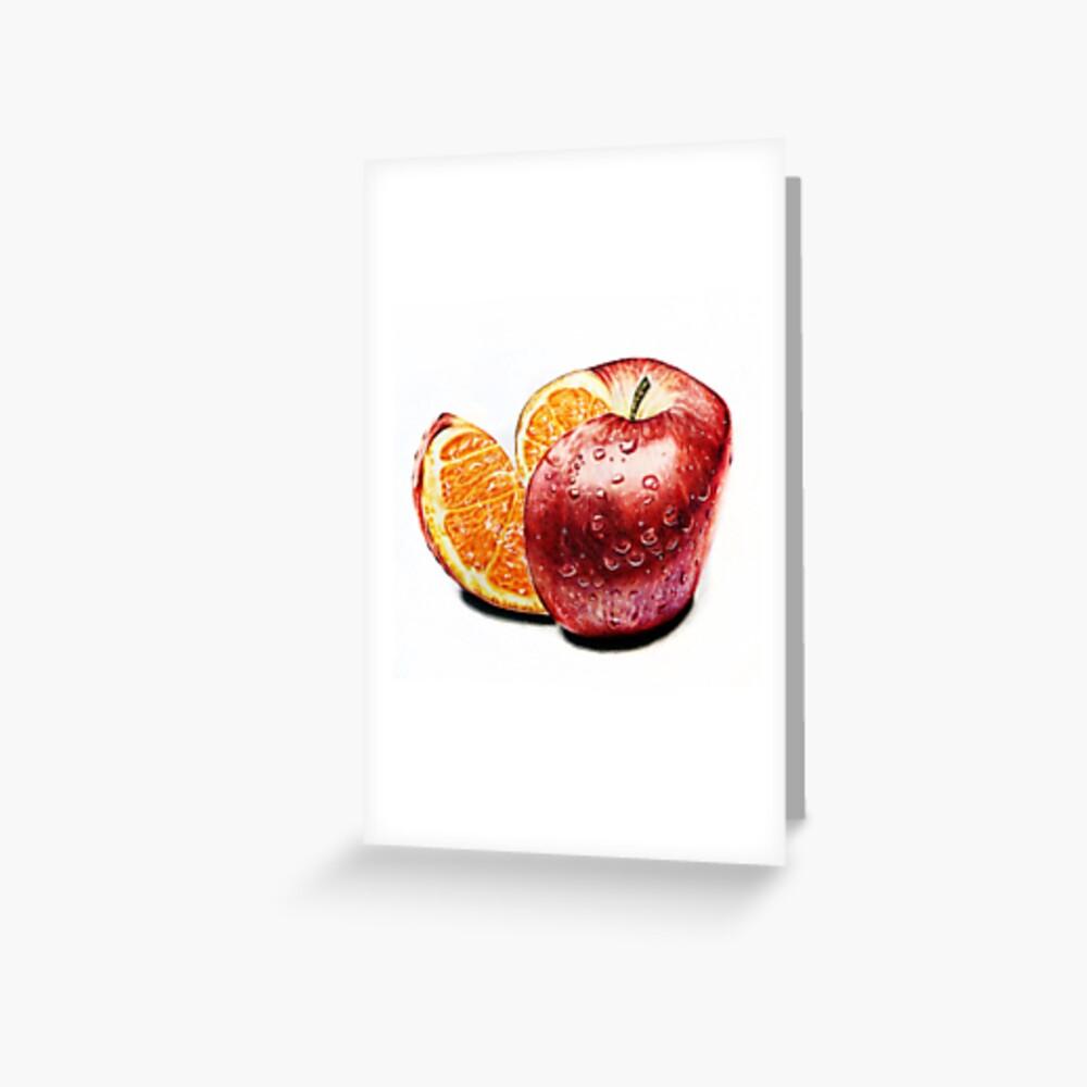 Freakonomics (Color pencil drawing) Greeting Card