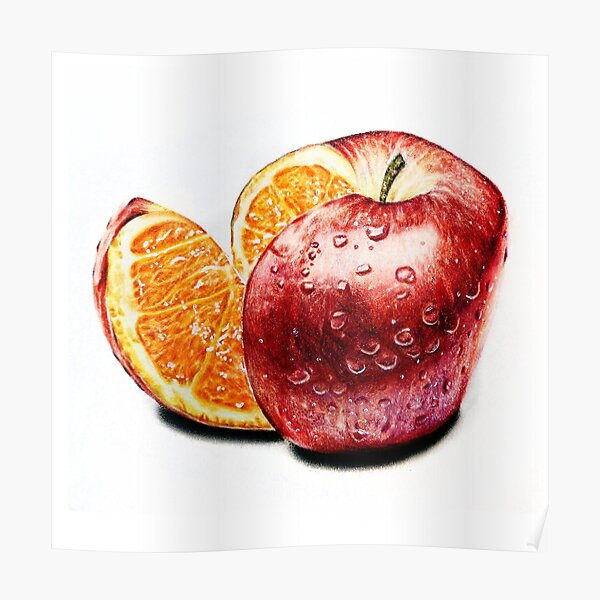 Freakonomics (Color pencil drawing) Poster