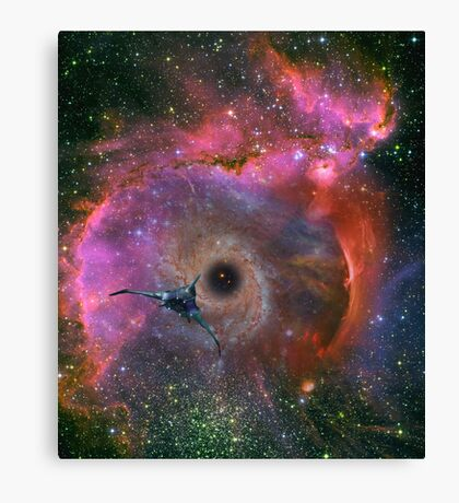 To Explore Far Horizons Canvas Print