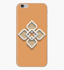 Nice brown Arabic pattern for your phone case iPhone Case