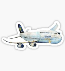 Cut out Crusty Jumbo Jet Sticker