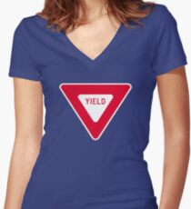 Yield Women's Fitted V-Neck T-Shirt