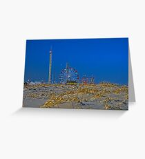 Fun is Just Past the Dunes! Greeting Card