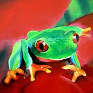 """Green Tree Frog""  by Taniakay"