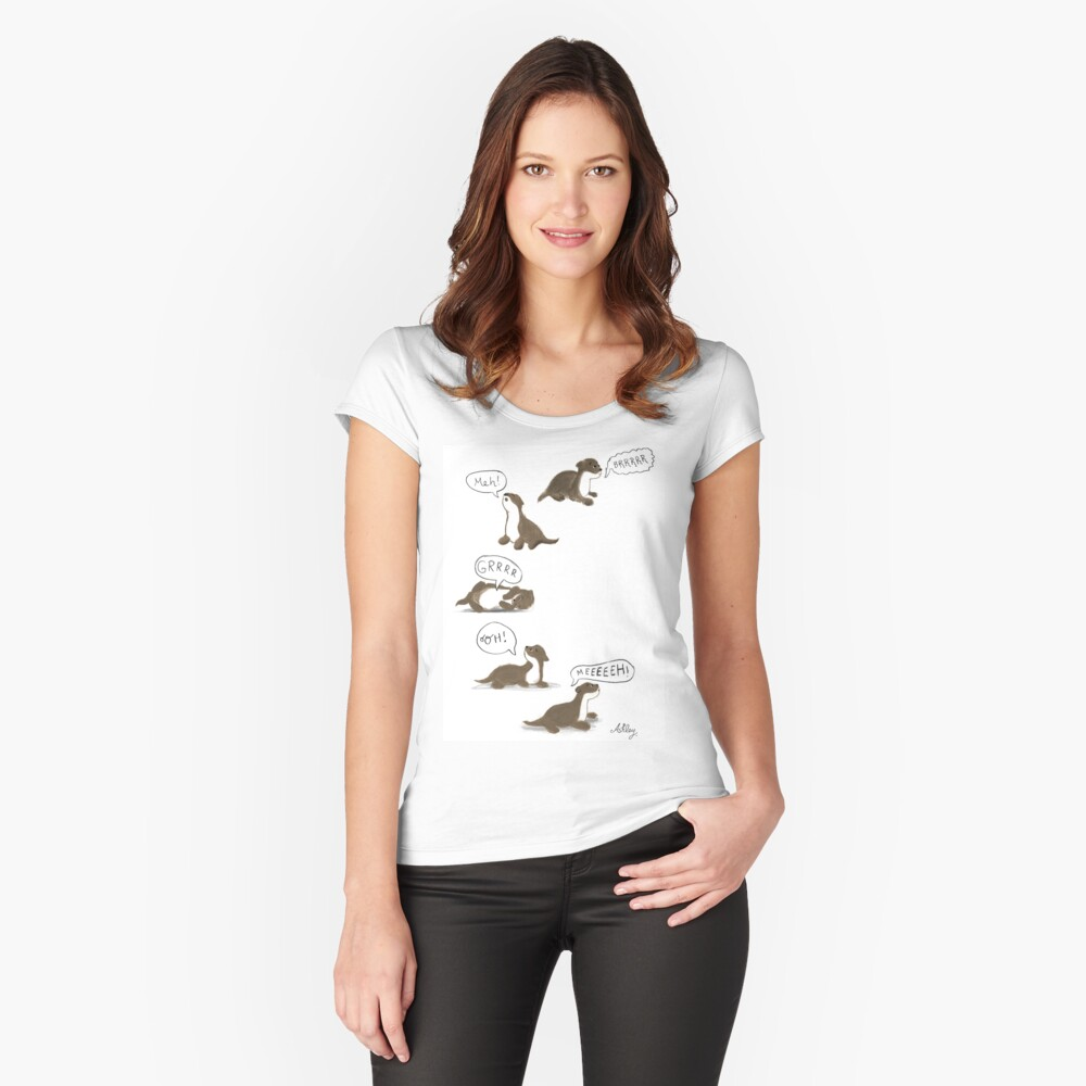 pup Fitted Scoop T-Shirt