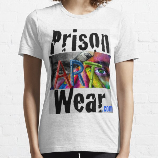 Any way you spell it...PrisonArtWare.com delivers! Essential T-Shirt