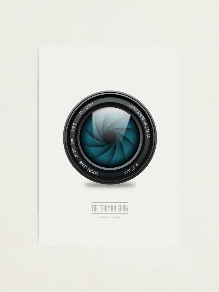 Alternate view of The Truman Show - Alternative Movie Poster Photographic Print