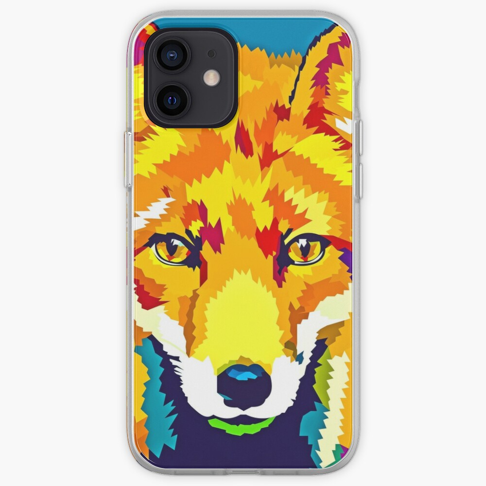 Rainbow Fox iPhone Case & Cover