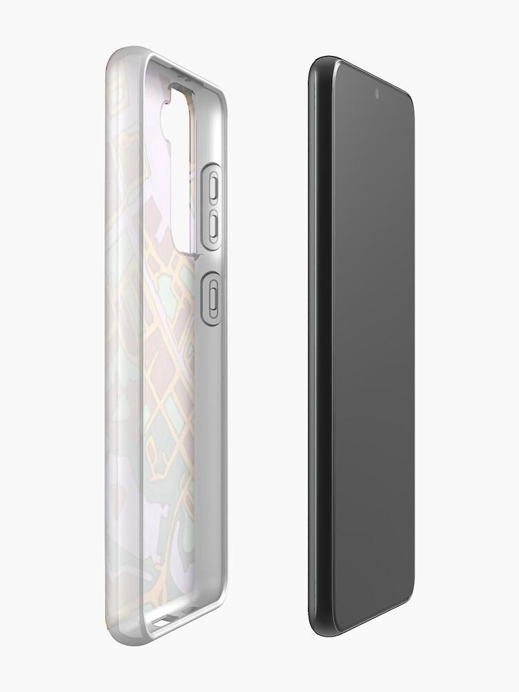 Alternate view of Copenhagen, Denmark Case & Skin for Samsung Galaxy