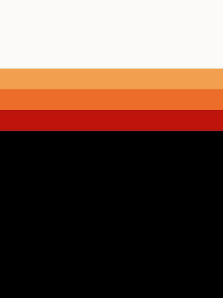 Retro Sunset Stripes by RaymundoSouza