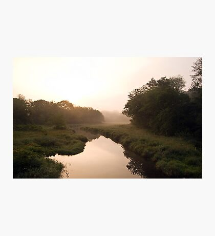 Morning on the Manasket River Photographic Print