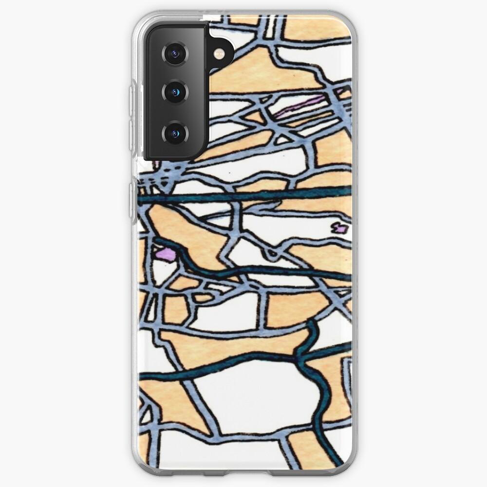 Johannesburg, South Africa Case & Skin for Samsung Galaxy