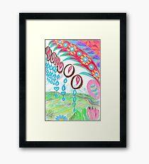 Windchimes Framed Print