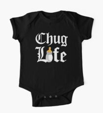 Chug Life Black One Piece - Short Sleeve