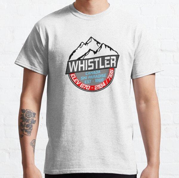 Ski Whistler B.C Canada Skiing Paradise Classic T-Shirt
