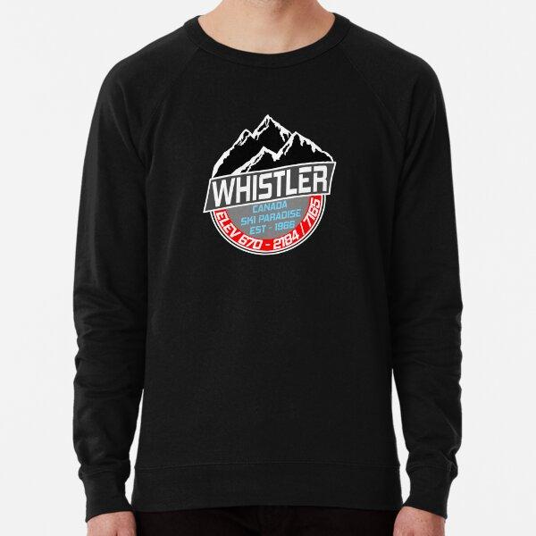 Ski Whistler B.C Canada Skiing Paradise Lightweight Sweatshirt