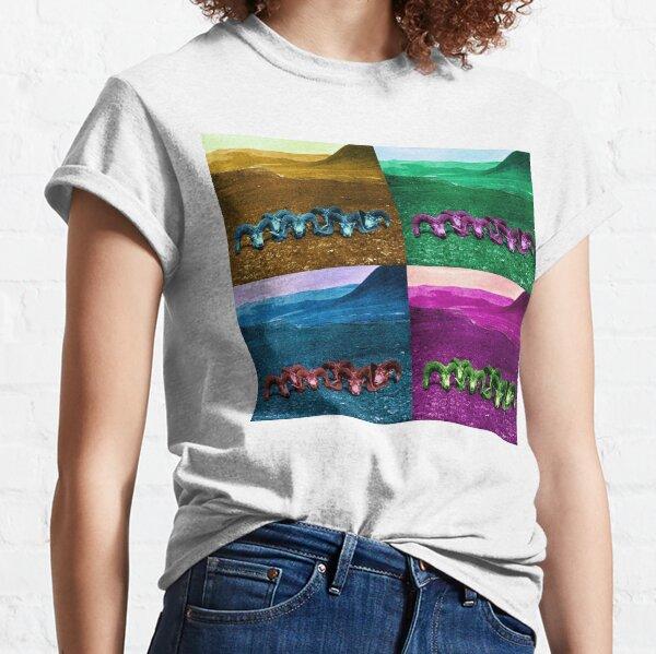 Four Skull Pop Art Classic T-Shirt