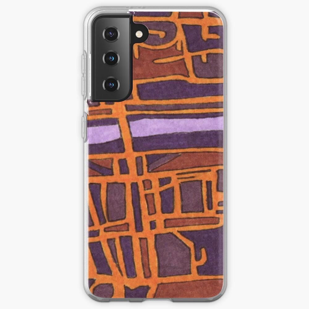 Via Del Foro Italico, Rome, Italy Case & Skin for Samsung Galaxy