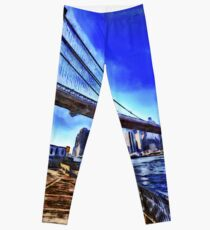 Legging Brooklyn Bridge NY Art