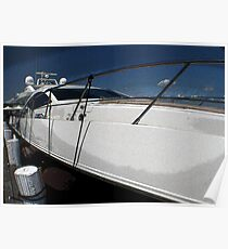 Nantucket Yacht Poster