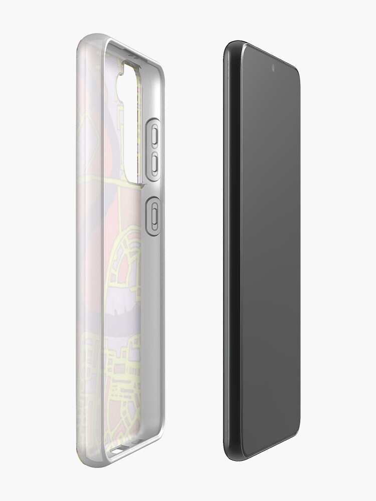 Alternate view of Penang, Malaysia Case & Skin for Samsung Galaxy