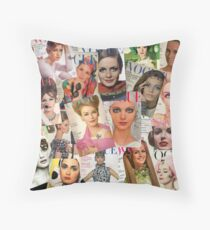 Vogue (1960's) Throw Pillow