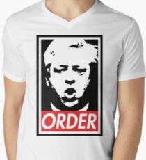 Camiseta para hombre de cuello en v Orden de John Bercow