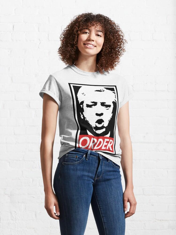 Alternate view of John Bercow Order Classic T-Shirt