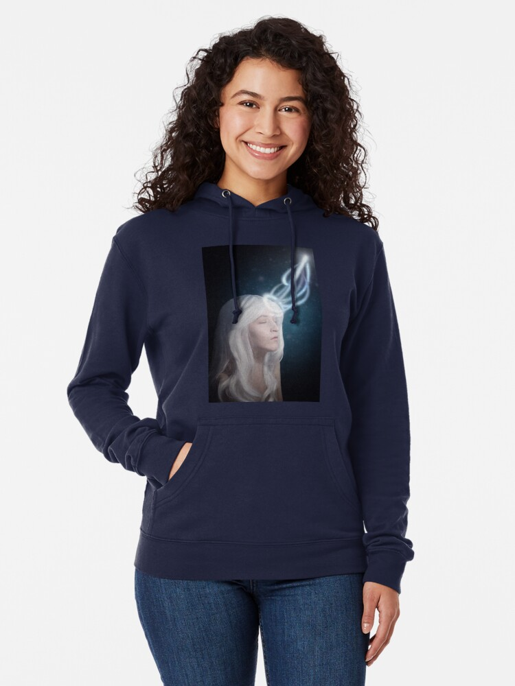 Alternate view of The Importance of Mortality Lightweight Hoodie