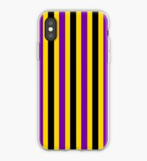 Intersex Pride Vertical Stripes iPhone Case