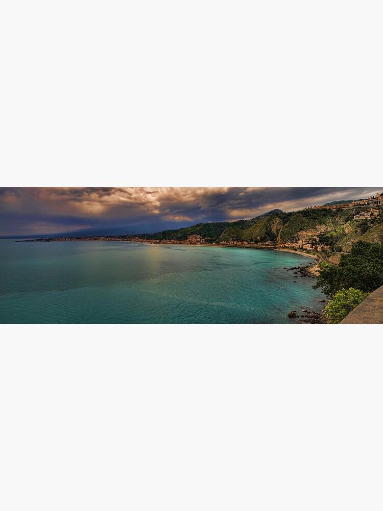 Vista panoramica della baia di Naxos by rapis60