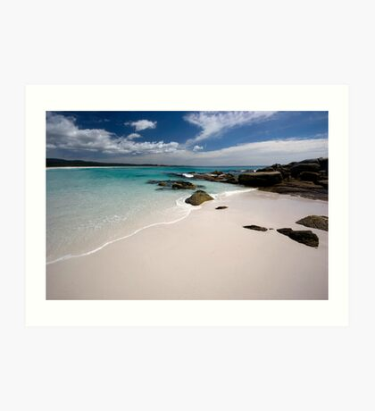 Bay of Fires   - Tasmania coast  Art Print