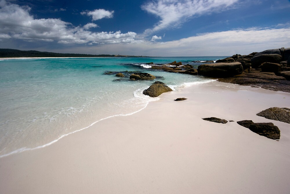 Bay of Fires   - Tasmania coast  by Jenny Dean